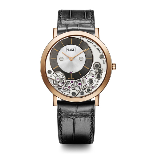 Reloj Piaget Altiplano G0A39110,Caja 38 mm, Oro Rosa 18 Quilates, Movimiento mecánico de cuerda manual. El Reloj más plano del mundo. Manufactura Piaget