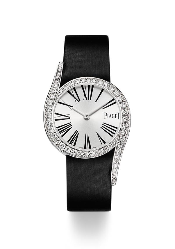 Reloj Piaget Limelight Gala G0A38160 ,Caja de 32 mm en Oro Blanco. Caja en oro blanco engastada con un total de 62 diamantes .Movimiento de cuarzo