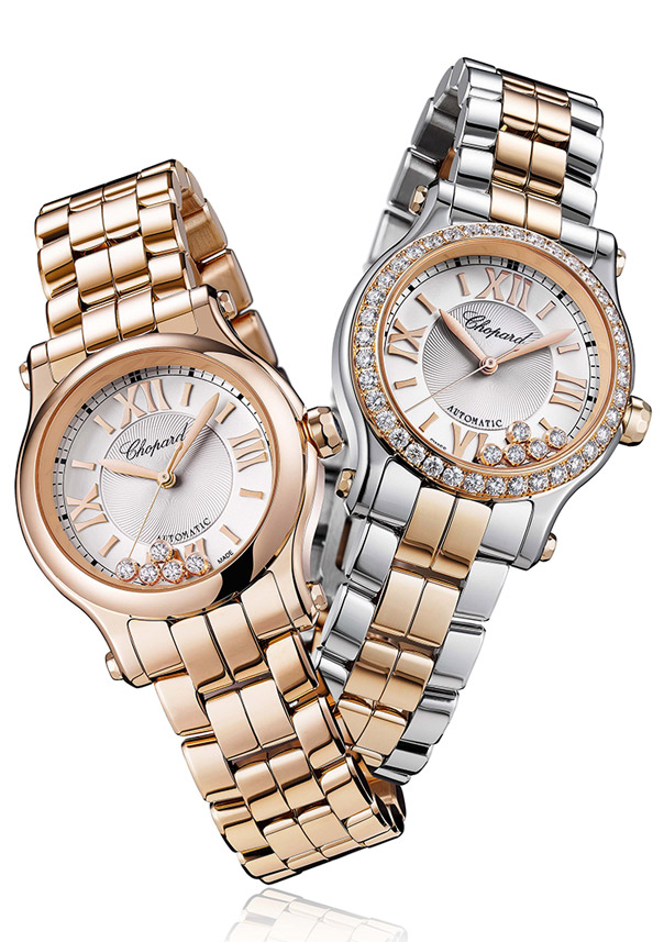 Luxury Business Gifts Chopard HAPPY SPORT 274893-5003 and Chopard HAPPY SPORT 278573-6004
