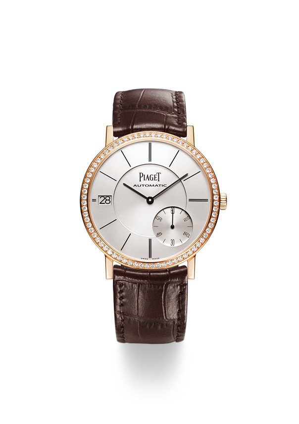 Reloj Piaget Altiplano G0A38129,Caja 40 mm, Oro Rosa 18 Quilates con Diamantes en bisel, Automático. Manufactura